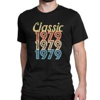 1980 Vintage Retro Graphic T Shirt 40th Birthday 40 Years Old Gifts for Men