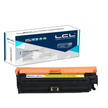 LCL Remanufactured Toner Cartridge Replacement for HP 307A CE742A CP5225 CP5225n CP5225dn (1-Pack Yellow)