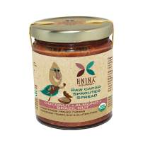 HNINA Gourmet Organic Sprouted Nuts & Raw Cacao Spread - Coconut + Almond + Brazil Nut