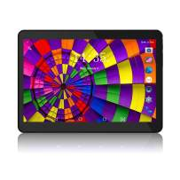 Tablet 10.1 Inch Android 8.0 3G Phone Tablets with 1GB RAM+16GB ROM Dual Sim Card 2MP+ 5MP Camera, WiFi, Bluetooth, GPS, Quad Core, HD Touchscreen, Support 3G Phone Call (Black)