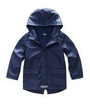 Hiheart Boys Girls Waterproof Rain Jacket Fleece Lined Softshell Coat