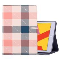 iPad 6th/5th Generation 9.7 inch 2018/2017 Case, Shockproof Protective Stand Case Cover with Auto Wake/Sleep for iPad Air 2 / iPad Air (Pink Plaid)
