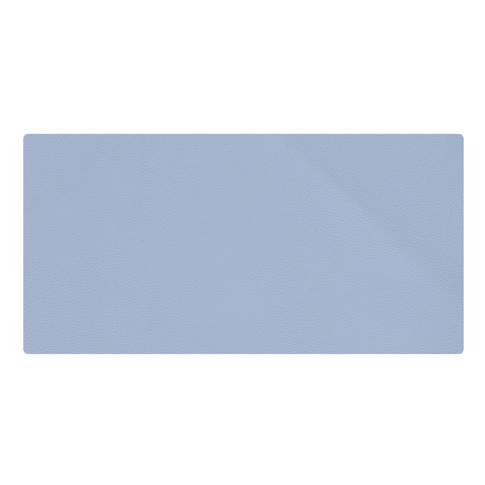 """KINGFOM Desk Mat Pad Blotter Protector 23.6"""" x 11.8"""", PU Leather Desk Mat Laptop Keyboard Mouse Pad with Comfortable Writing Surface Waterproof (Blue)"""