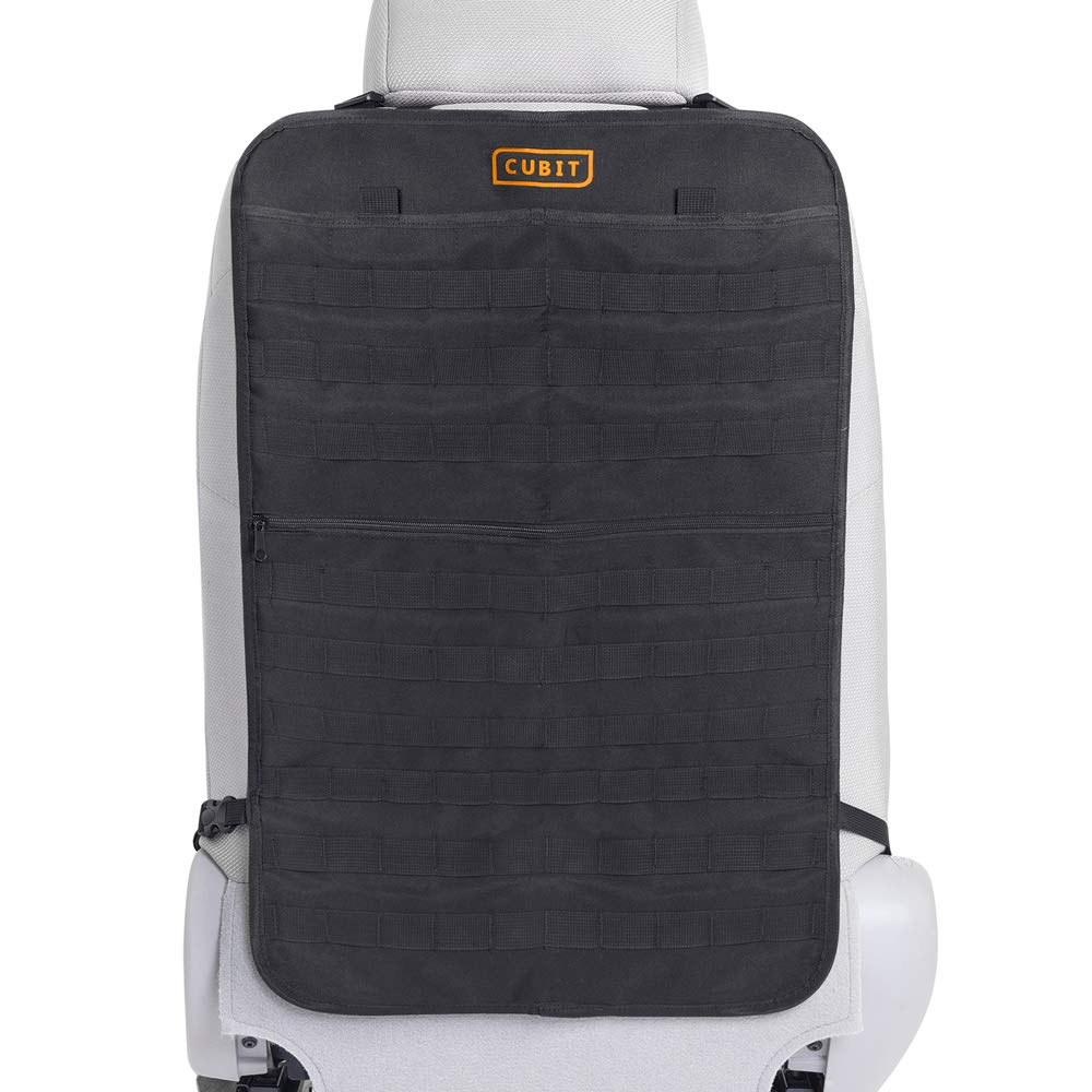 BDK CSC-100 Cubit Organizer & Protector-Convenient Compatible-Waterproof with Pockets & MOLLE Accessories (Seat Back Organizer)