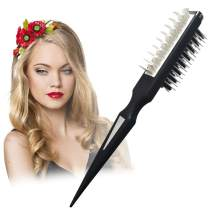 Hair Comb Instant Hair Volumizer Comb Hair Style Comb Hair Styling Comb Shark Brush Portable Hair Styling Comb Multifuncional Combing Brush Hair Styling Tool Suitable for All Hair Types Women Men