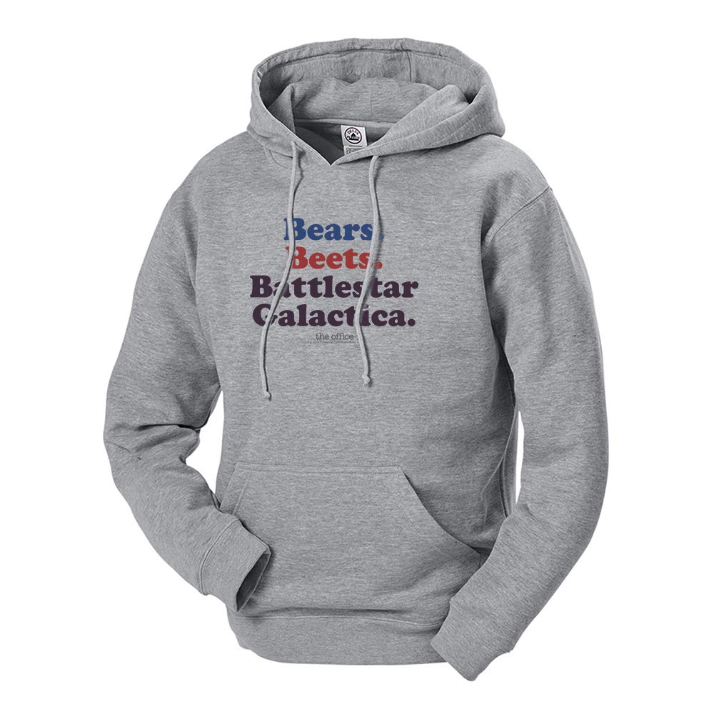 NBC The Office Bears. Beets. Battlestar Galactica Hooded Sweatshirt