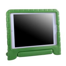 HDE Kids Case for iPad Air 1 and 2 - Shockproof Bumper Kid Friendly Cover w/Adjustable Handle Stand (Green)