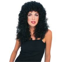 Rubie's Costume Flowing Curly Wig