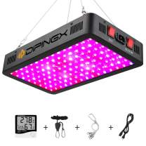 DIPINGX Upgraded Full Spectrum 1200W Led Grow Light Veg&Bloom Double Switch Led Growing Lamp for Greenhouse Indoor Plant Veg and Flower(Dual-Chip 10W LEDs 120Pcs) (1200W)