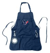 Team Sports America Ultimate NFL Tailgate Grilling Apron, Houston Texans