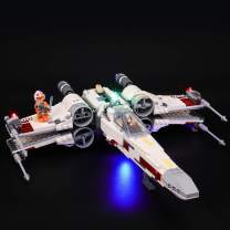 BRIKSMAX Led Lighting Kit for Star Wars X-Wing Starfighter - Compatible with Lego 75218 Building Blocks Model- Not Include The Lego Set