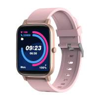 SANAG Smart Watch Compatible iPhone and Android Phones, Fitness Tracker with Blood Oxygen & Heart Rate Monitor, IP67 Waterproof Pedometer Smartwatch with BP & Sleep Monitor for Men and Women (Pink)