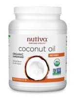 Nutiva Organic Steam Refined Coconut Oil, 78 Fluid Ounce