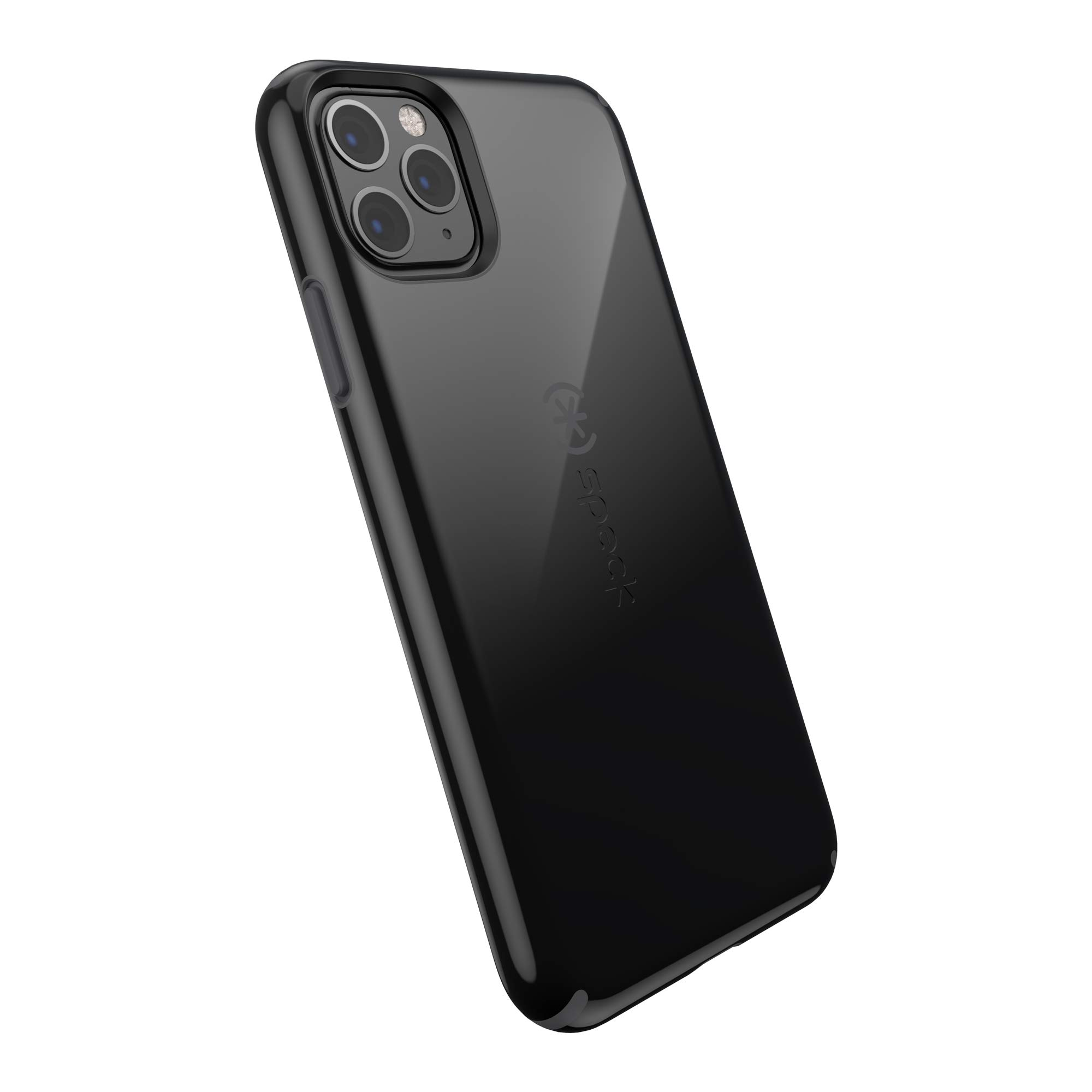 Speck CandyShell iPhone 11 Pro Max Case, Black/Slate Grey