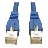Tripp Lite Augmented Cat6 Cat6a Shielded STP Snagless 10G Patch Cable RJ45 M/M Blue 5ft 5' (N262-005-BL)