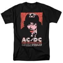 AC DC High Voltage Album Tour T Shirt & Stickers
