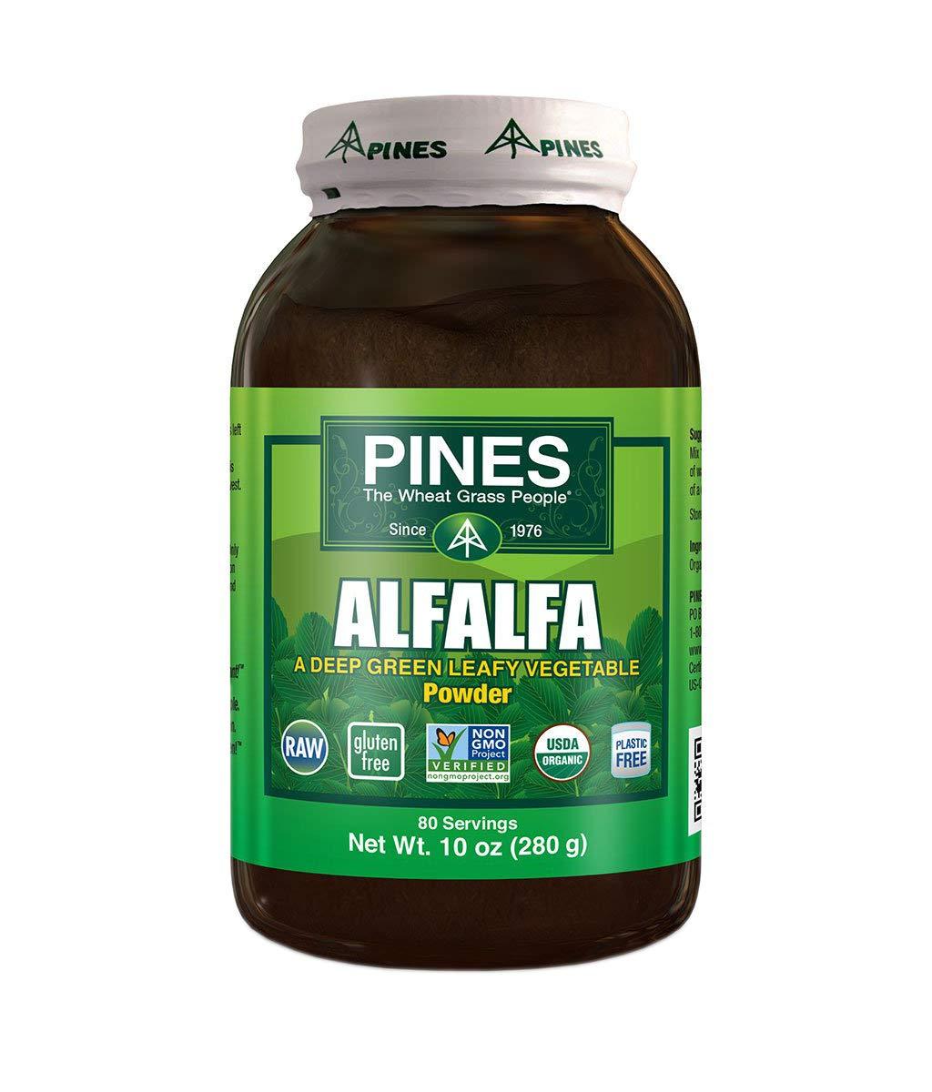 PINES Organic Alfalfa Powder, 10 Ounce