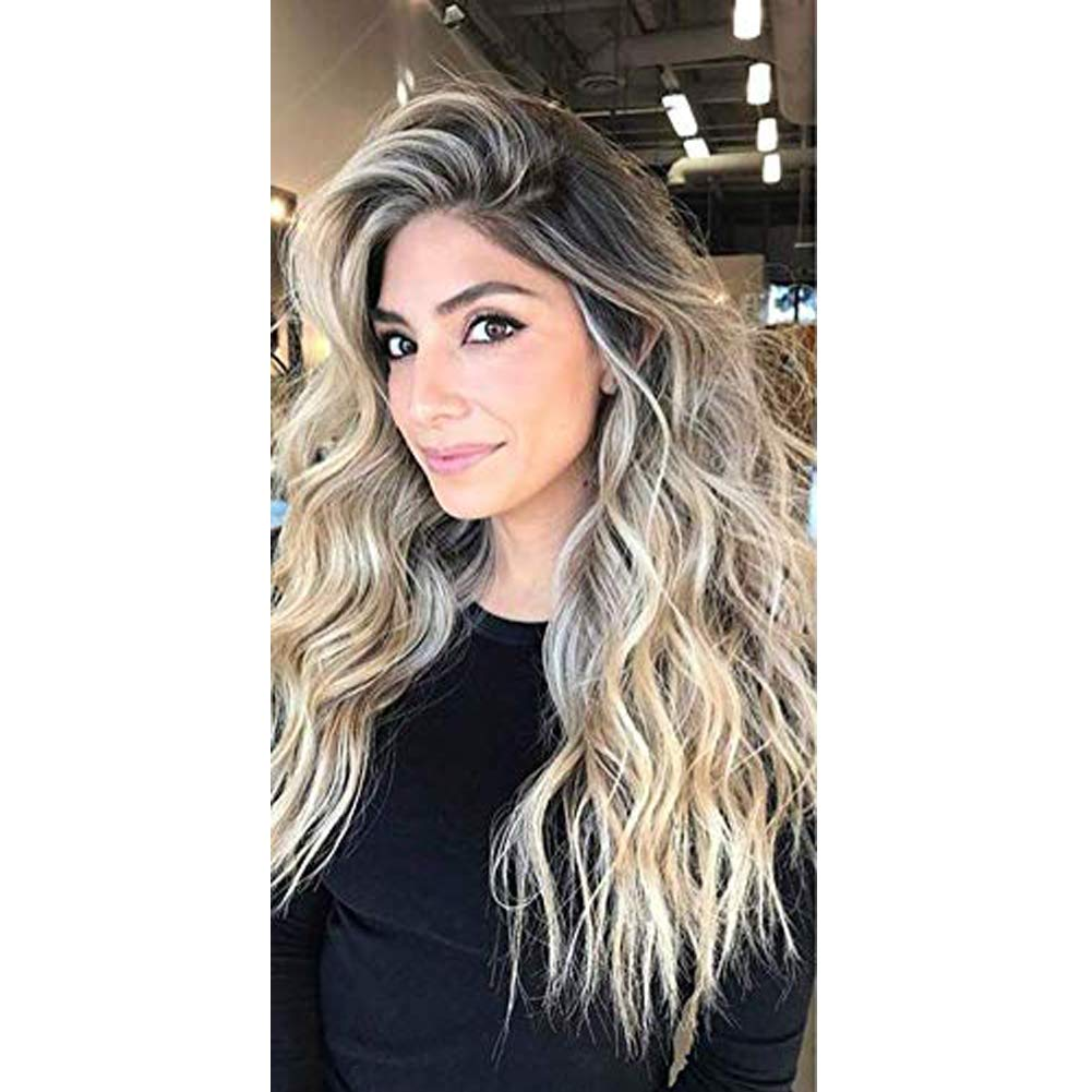 """Moresoo Tape in Balayage Hair Extensions Skin Weft Remy Hair 20"""" 20pcs/50g Hair Extensions Tape ins Human Hair Balayage Color #3 Brown to #12 Blonde Highlighted with #613 Bleach Blonde Real Hair"""