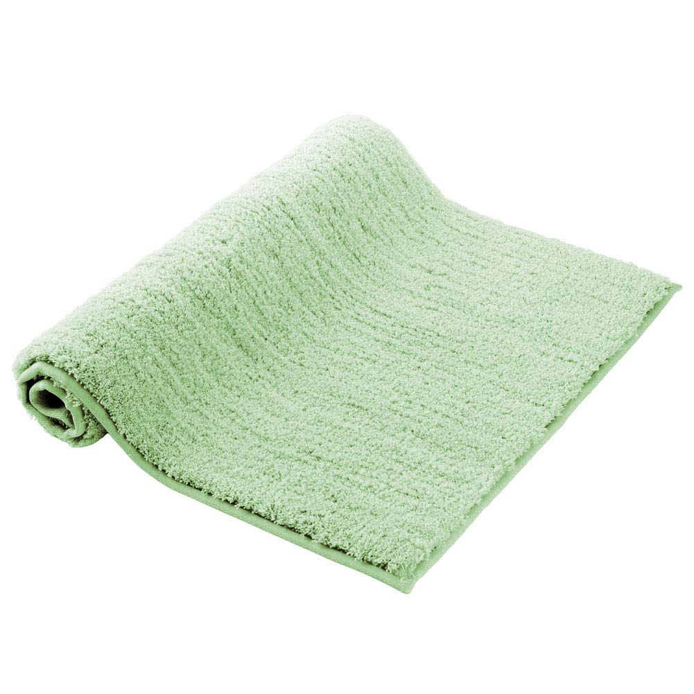 "Small Bathroom Mats Homever Non Slip Latex Backing Luxury Soft Microfiber Green Bath Rug Floor Mat with 17""x24"" Water Absorbent"