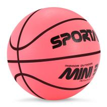 "Sport AI Small Basketball Mini Cute Bouncy Ball for Kids,Safe and Soft to Handheld 5"" Green/Blue/Pink Basketballs"