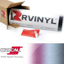 ORACAL 970RA Shift Effect Gloss Pearl Symphony 315 Wrapping Cast Film Vehicle Car Wrap Vinyl Sheet Roll - (1ft x 5ft w/App Card)