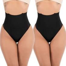 FUT Women Butt Lifter Shapewear Waist Cincher Girdle Tummy Control Thong Panty Slimmer Body Shaper