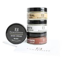 FootFitter Premium Shoe Cream Polish, 4 Pack, Shoe and Boot Shine Cream - Made in the USA!