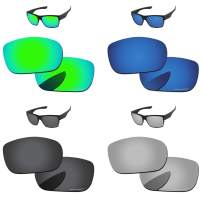 PapaViva Polarized Lenses Replacement for Oakley TwoFace 4 Pairs Packed