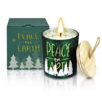 Frasier Fir Scented Candles Forest Fragrance Cedar Jar Candle for Aromatherapy Bath Relaxation Natural Soy Balsam Wax Gift