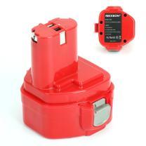 REEXBON 12V 2.0Ah Replacement Battery 1233 Battery for Makita 1222 1233 1220 1234 1235 192598-2 PA12, 6213d 6217d 6227d 6313d