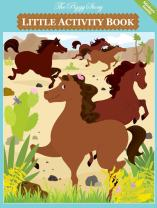 The Piggy Story 'Horse Play' Little Activity Booklet for Kids on The Go