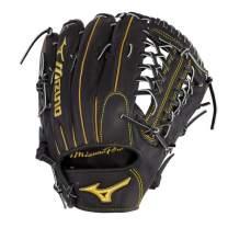 """Mizuno GMP2BK-700DS Mizuno Pro Outfield Baseball Gloves, 12.75"""", Right Hand"""