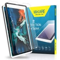 Tempered Glass Screen Protector for New iPad Pro 12.9 (2018), MiiKARE Screen Protector for iPad Pro 12.9 inch with Matte Glass, Anti-Glare, Anti-Fingerprint