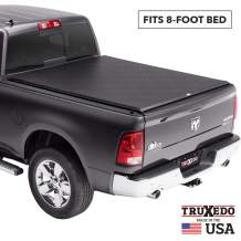 TruXedo Edge Soft Roll Up Truck Bed Tonneau Cover | 848901 | fits 09-18, 19-20 Classic Ram 1500, 2500, 3500 8' bed
