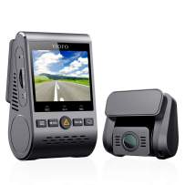 Viofo A129 GPS Dual Lens Dash Cam Full HD 1080P 140° Wide Angle Dashboard Camera w/GPS, Low Light Vision G-Sensor
