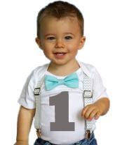 Noah's Boytique Baby Boys Cake Smash Outfit First Birthday