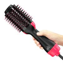 NEXT BEAUTY Hot Air Brush, Hair Dryer Brush, One Step Hair Dryer & Volumizer, 3 in 1 Blow Dryer Brush with Smooth Frizz and Ionic Technology-One Step Hair Dryer & Styler and Hair Straightener