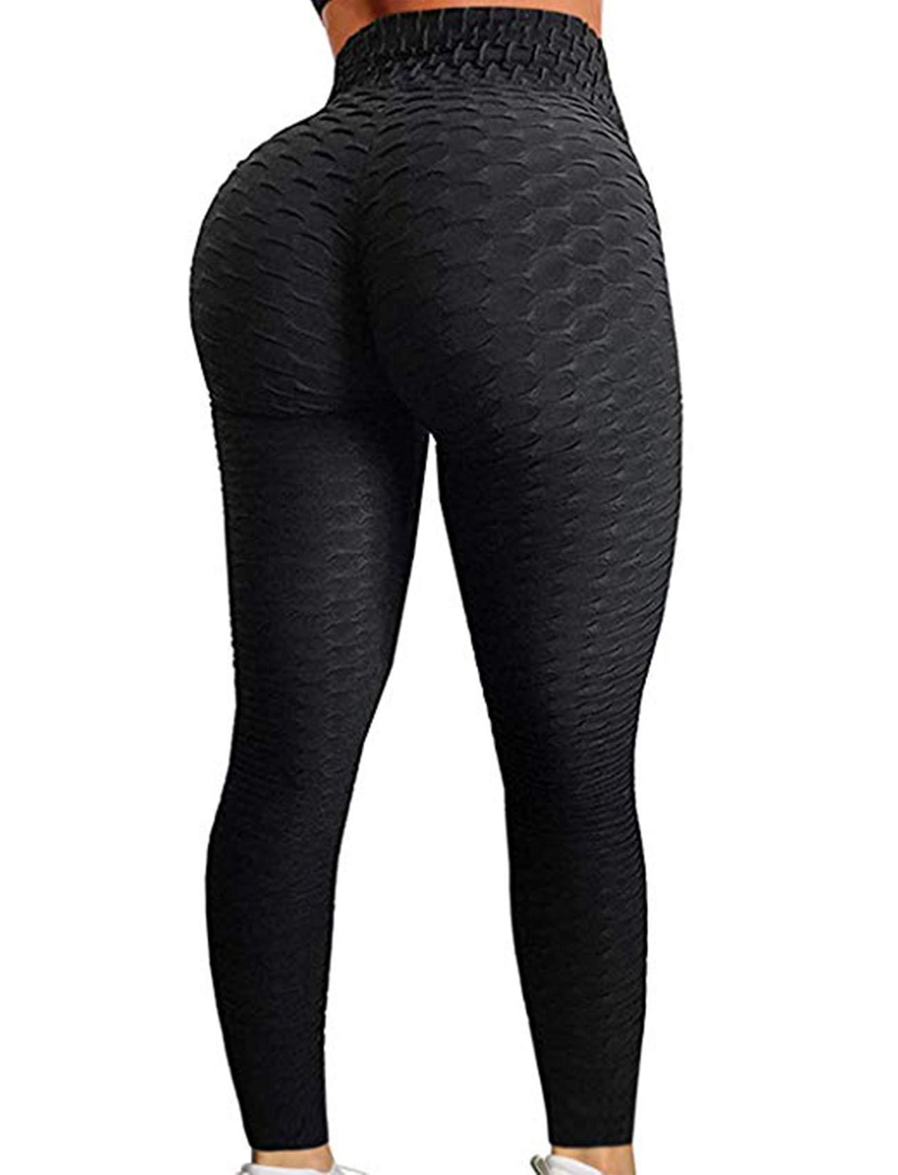 Gliorai Yoga Pants Scrunch Leggings Booty High Waist Tight Legging Pants
