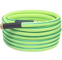 Atlantic Premium Hybrid Garden Hose 5/8 Inch, Working Under -4°F, Coils Easily, Kink Resistant,Abrasion Resistant, Extreme All Weather Flexibility (75 FT)