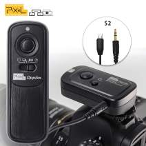 Pixel RW-221 S2 Wireless Remote Commander Shutter Release Cable Cord for Sony Mirrorless Digital SLR Cameras Replaces Sony RM-SPR1