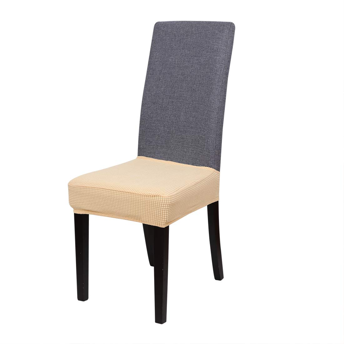 Dining Room Chair Seat Cover Slipcover Spandex Stretch Home Decor Banquet Party