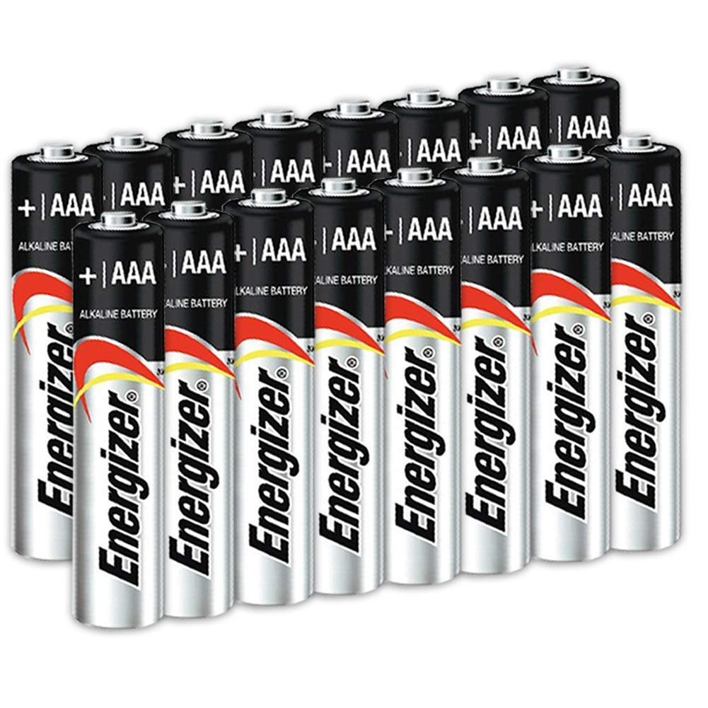 16 Count Energizer AAA Batteries, Triple A Battery Max Alkaline, Long Lasting, Leak Resistant, The Perfect Choice of Power for All AAA Battery Operated Devices.