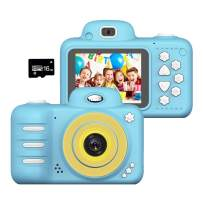 Wonvin Kids Toys Camera for 4-10 Year Old Girls Boys,2.4 Inch Screen 8MP HD Video Cameras, Best Gift for 4-10 Year Old Boy Girl Creative Gifts,(16GB Micro SD Card Included)