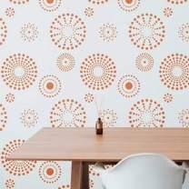 Kaleidoscope Wall Stencil | DIY Home Decor Stencils | Paint Stencil for Walls, Furniture, Floors, Fabric