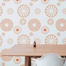 Kaleidoscope Wall Stencil | DIY Home Decor Stencils | Paint Stencil for Walls, Furniture, Floors, Fabric