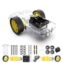 diymore 2WD Smart Robot Car Chassis Kit with 2 Motor (1:48) Speed Encoder Battery Box for Arduino UNO Project
