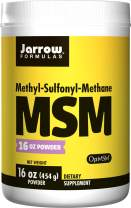 Jarrow Formulas MSM Sulfur Powder, for Beauty and Bone and Joint Health, 16 Oz