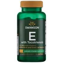 Swanson Full Spectrum Vitamin E with Tocotrienols 60 Sgels