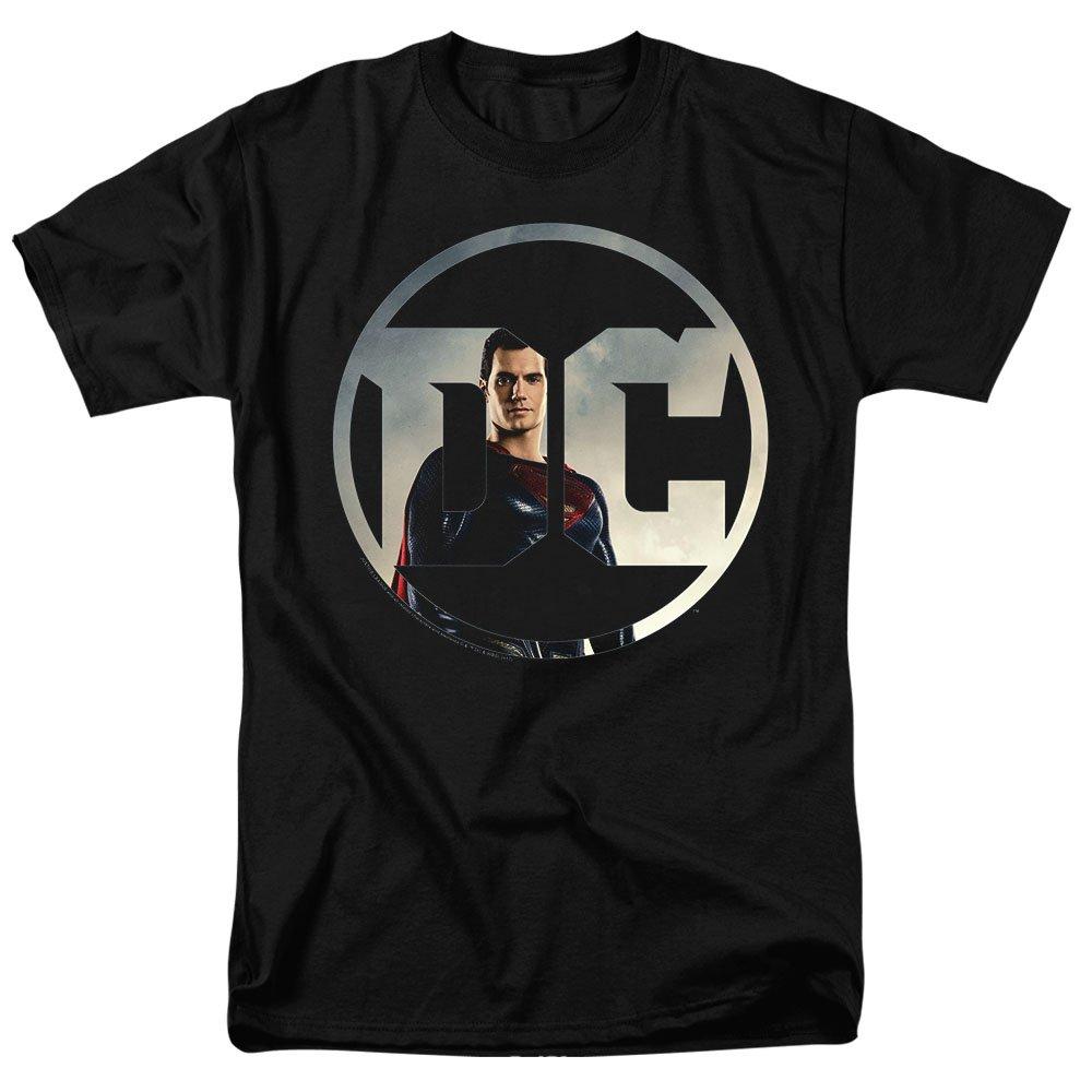 Justice League Movie Superman DC Comics Logo T Shirt & Stickers