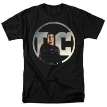 Justice League Movie Superman DC Comics Logo T Shirt & Stickers